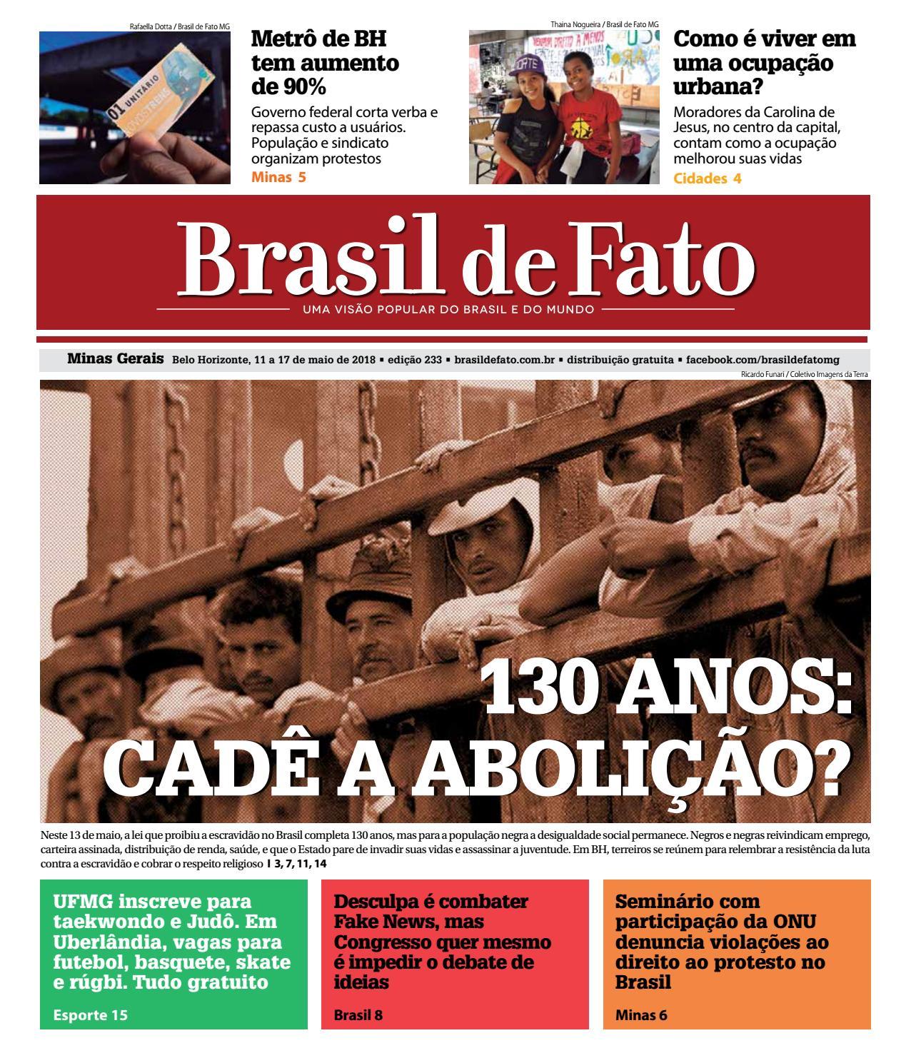 Edição 233 do Brasil de Fato MG by Brasil de Fato MG - issuu 32e8b717c4993