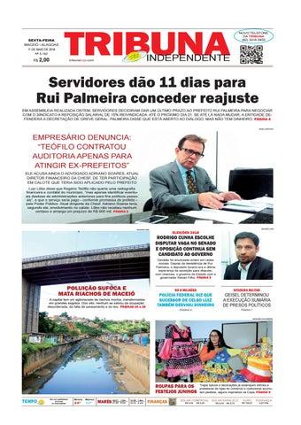 a16b419f7e Edição número 3142 - 11 de maio de 2018 by Tribuna Hoje - issuu