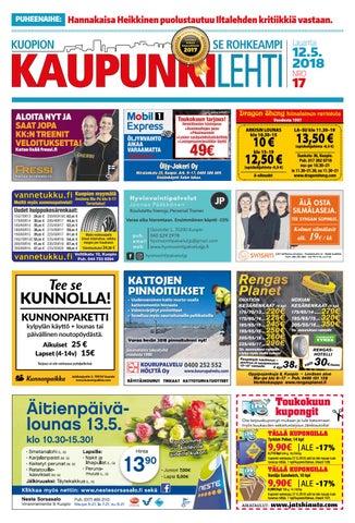 Kaupunkilehti 2018 12 By Kuopion 5 Issuu IYH2WE9D