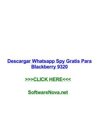 spy on whatsapp blackberry