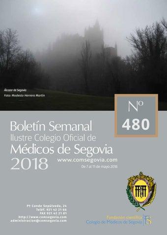 Boletin 480 Comsegovia By Colegio De Medicos De Segovia Issuu