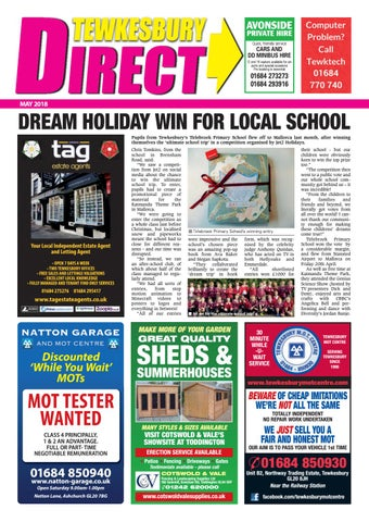 f59501b8b5c Tewkesbury Direct Magazine May 2018 by Tewkesbury Direct Magazine ...