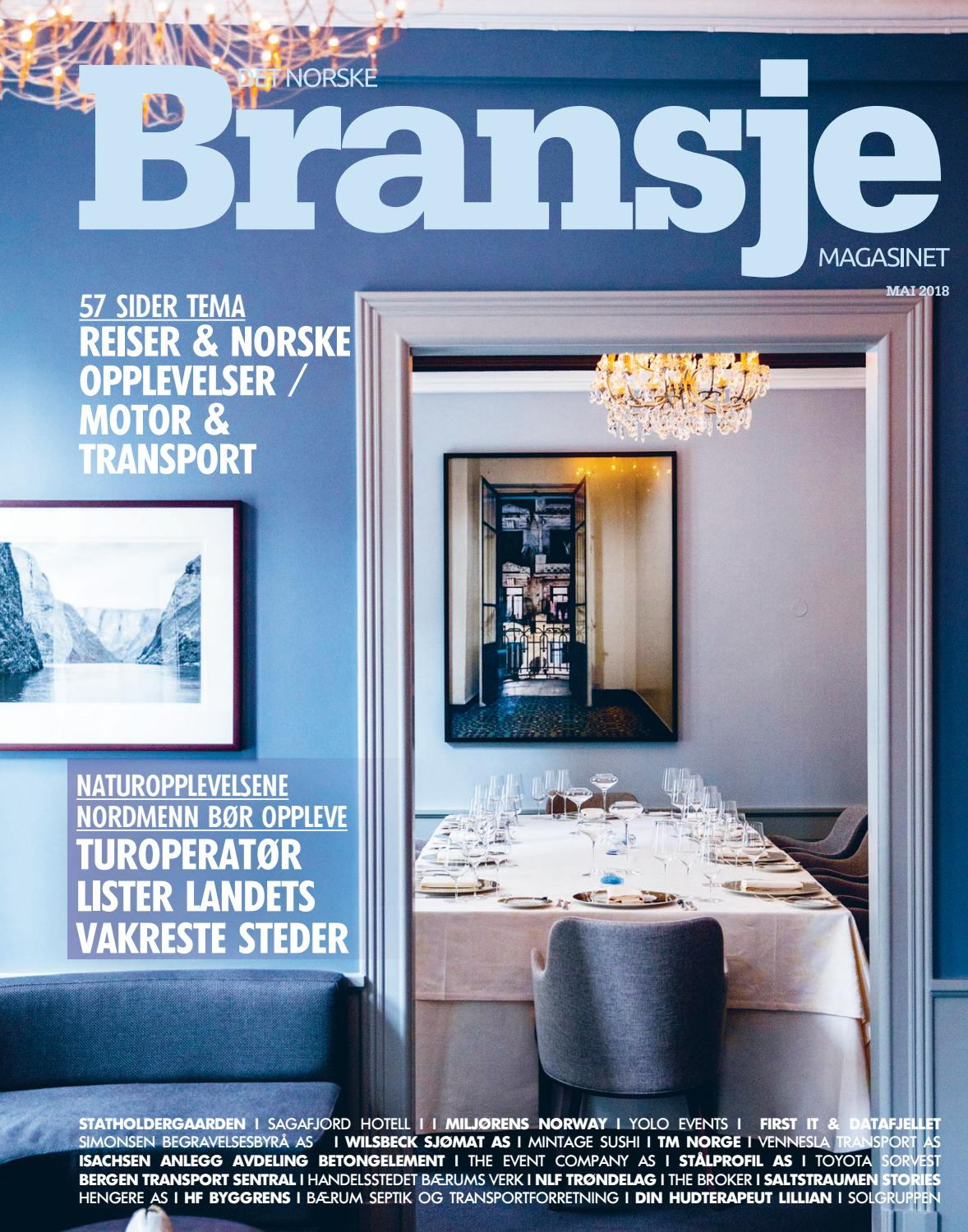 982d4fb7 Norske bransjemagasinet mai 2018 by R&D Forlag AS - issuu