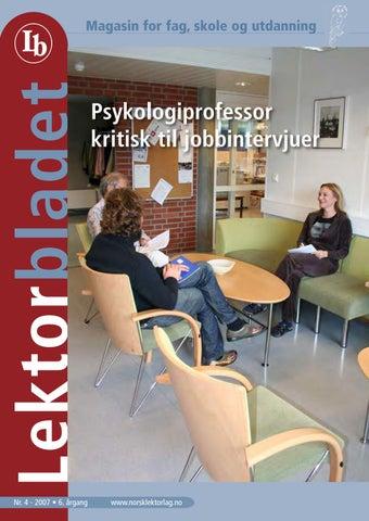 19d352cc9 Lektorbladet #4 2007 by Lektorbladet - issuu