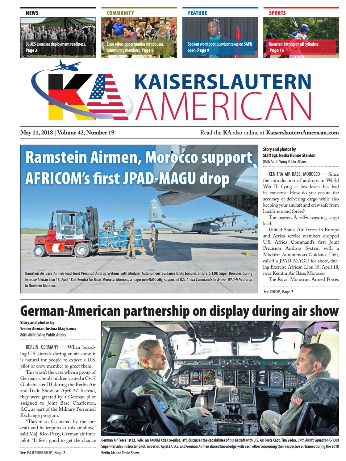 Kaiserslautern American, May 11, 2018 by AdvantiPro GmbH - issuu