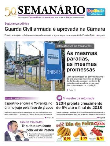 8ee9b5238d Jornal Semanário – 9 de maio de 2018 – Ano 51 – Nº 3436 by Jornal ...
