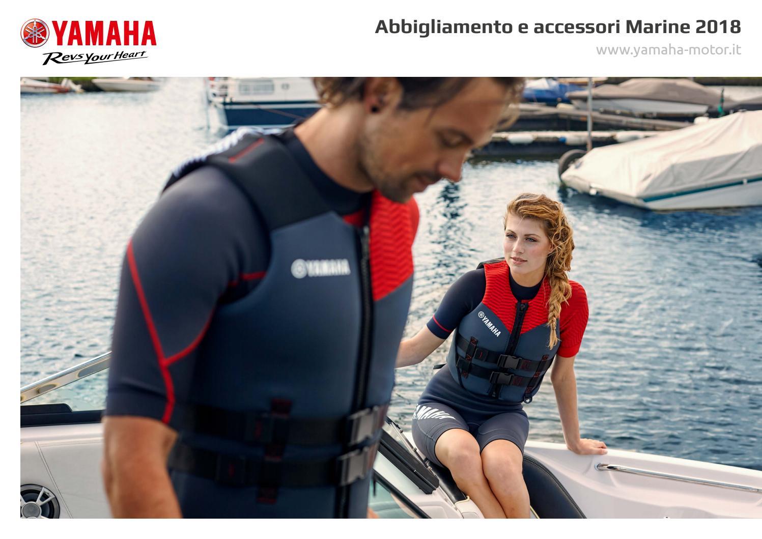 Catalogo accessori e abbigliamento marine 2018 by Yamaha Motor Europe N.V.  filiale Italia - issuu 80e82903214b