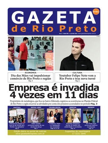 Gazeta de Rio Preto - 11 05 2018 by Social Light - issuu 45dc79aeb50