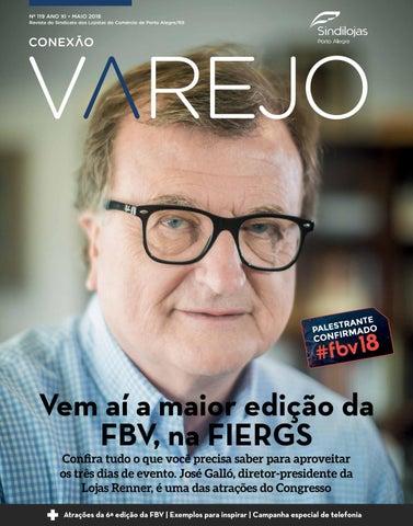 fe9b8d3c21320 Conexão Varejo Maio 2018 by Sindilojas Porto Alegre - issuu