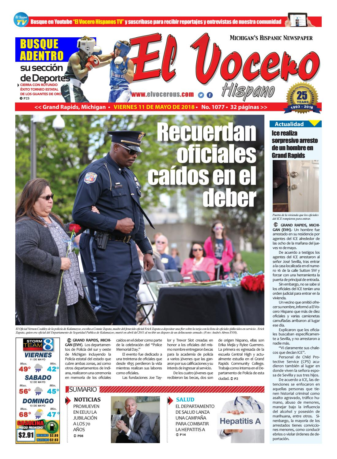 El Vocero Hispano 1077 by El Vocero Hispano - issuu
