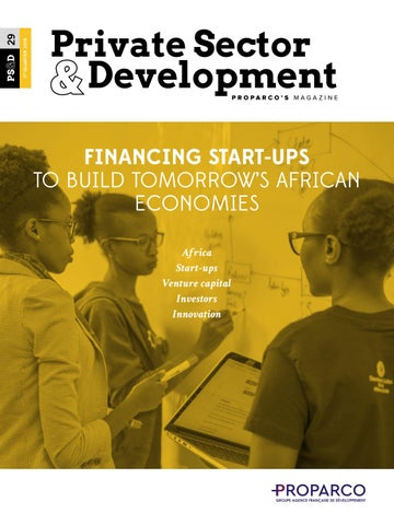 Financing Start-ups to Build Tomorrow's African Economies