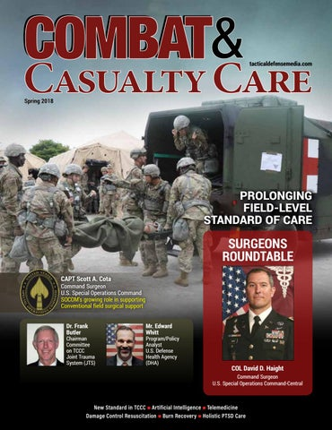 Combat & Casualty Care Spring 2018 by Tactical Defense Media