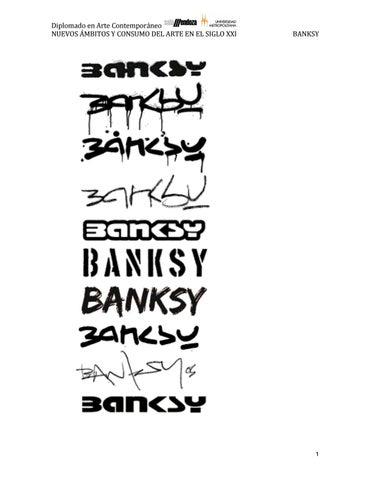 Banksy By Elizabeth Cemborain Issuu
