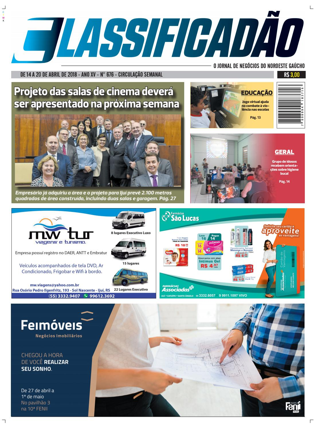 a1e1138da26cc Ed 676 by Jornal Classificadão - issuu