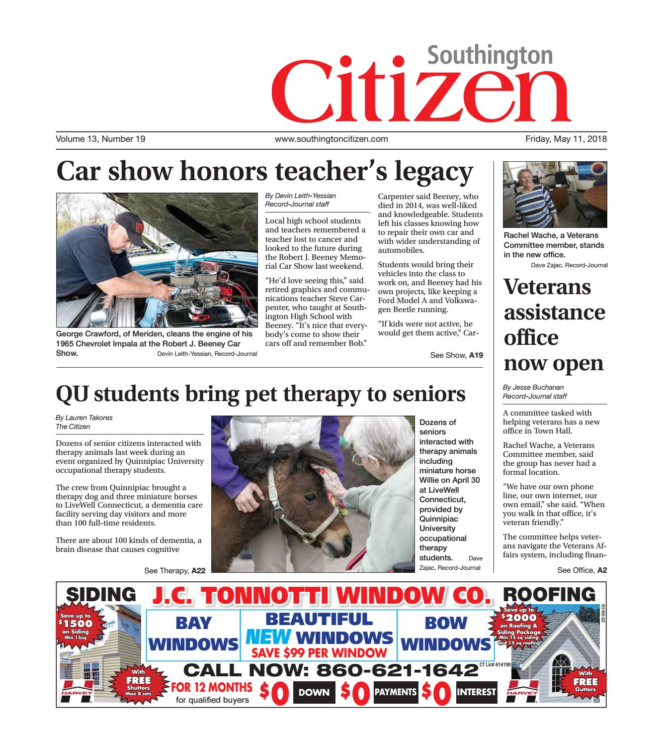southington citizen may 11 2018 by dan champagne issuu