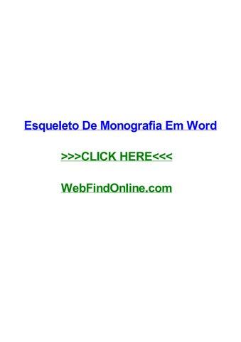 esqueleto de monografia em word by davidvdgx issuupage_1_thumb_large jpg