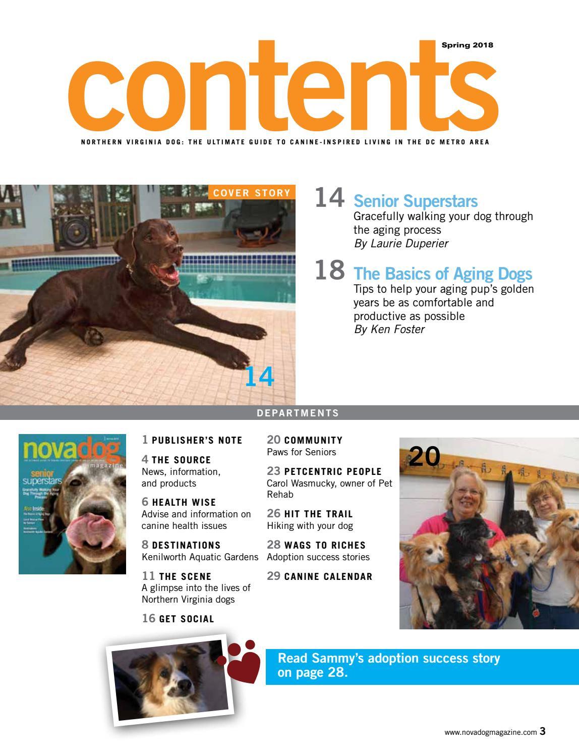 NOVADog Magazine Spring 2018 by 343 Media, LLC - issuu