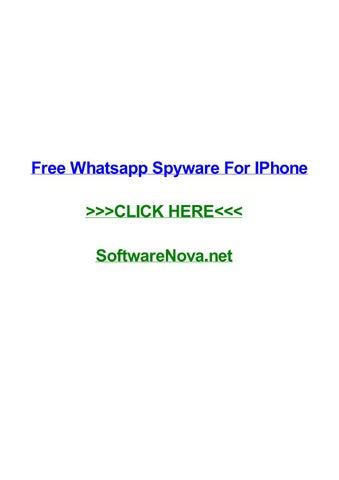 Free Whatsapp Spyware For Iphone By Pauliwdwm Issuu