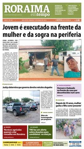 1fe2acfb6e08f Jornal roraima em tempo – edição 931 by RoraimaEmTempo - issuu