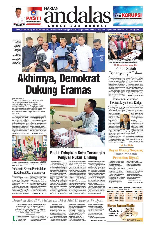Epaper Andalas Edisi Sabtu 12 Mei 2018 By Media Issuu Produk Ukm Bumn Telur Ayam Segar Ampamp  Depok