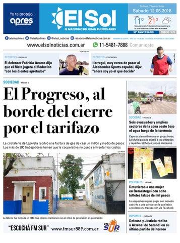 Diario EL SOL 12-05-2018 by EL SOL URBANA - issuu