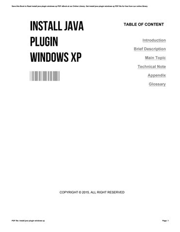 How to install java in windows xp, 7, 8 youtube.