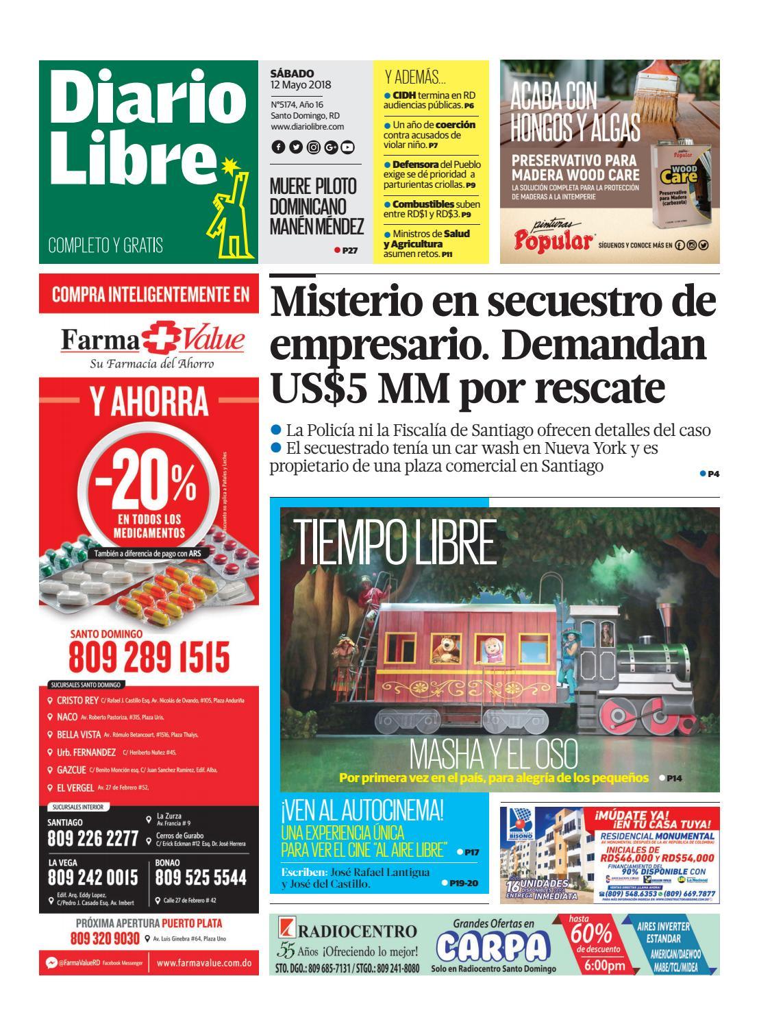 Diariolibre5174 by Grupo Diario Libre, S. A. - issuu