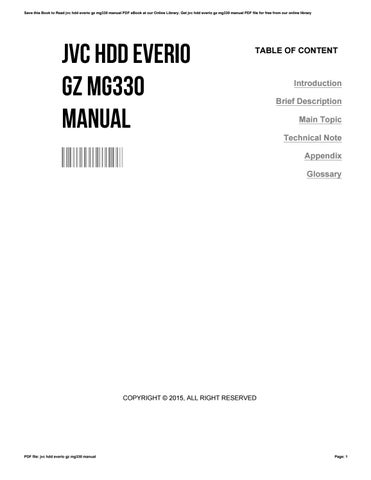 jvc hdd everio gz mg330 manual by phpbb13 issuu rh issuu com jvc everio gz-mg330 manual pdf jvc everio gz-mg330 manual pdf