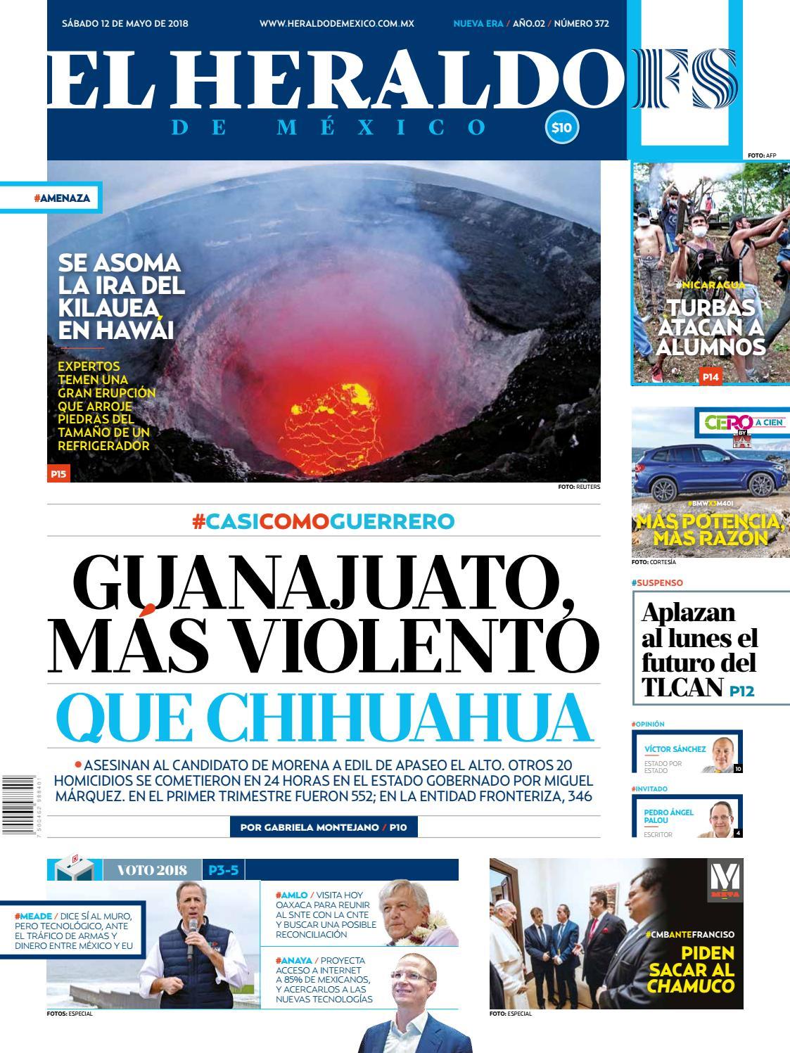 12 de mayo de 2018 by El Heraldo de México - issuu bf7e4e766a62c