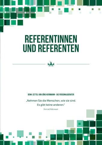 Page 21 of Die Referenten