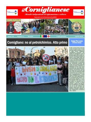 Il Corniglianese Aprile 2018 By Ilcorniglianese Issuu