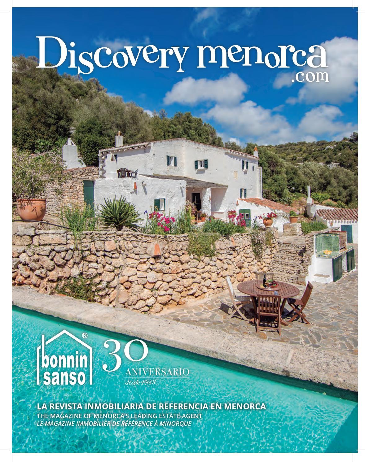 Discovery menorca 2018 1 by bonnin sanso estate agents - Bonnin sanso menorca ...