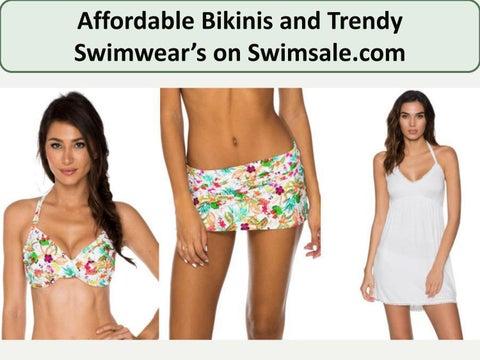 64d99386de53d Affordable Bikinis and Trendy Swi wear's o Swi sale.co