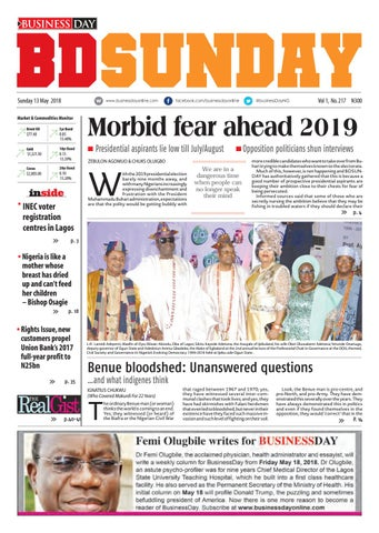 Businessday 13 May 2018 By Businessday Issuu