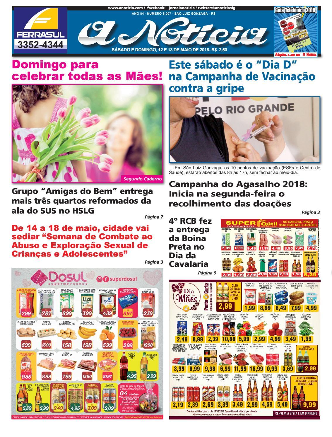 Edição de 12 e 13 de maio de 2018 by Jornal A Notícia - issuu f9d18ca575