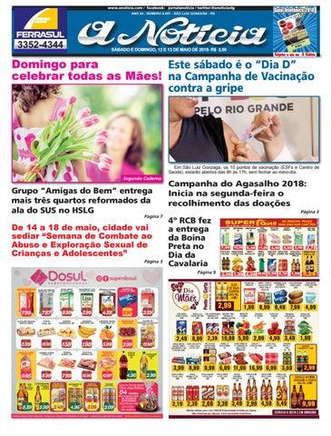 Edição de 12 e 13 de maio de 2018 by Jornal A Notícia - issuu 8ea729759f028