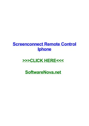 Screenconnect remote control iphone by sarahngyci - issuu