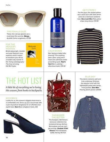 Page 10 of The Hot List