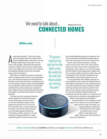 Page 13 of We need to talk about: Connected Homes