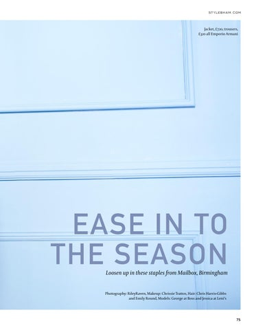 Page 75 of Ease in to the season
