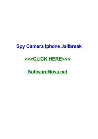 Spy camera iphone jailbreak by micheledawwt - issuu