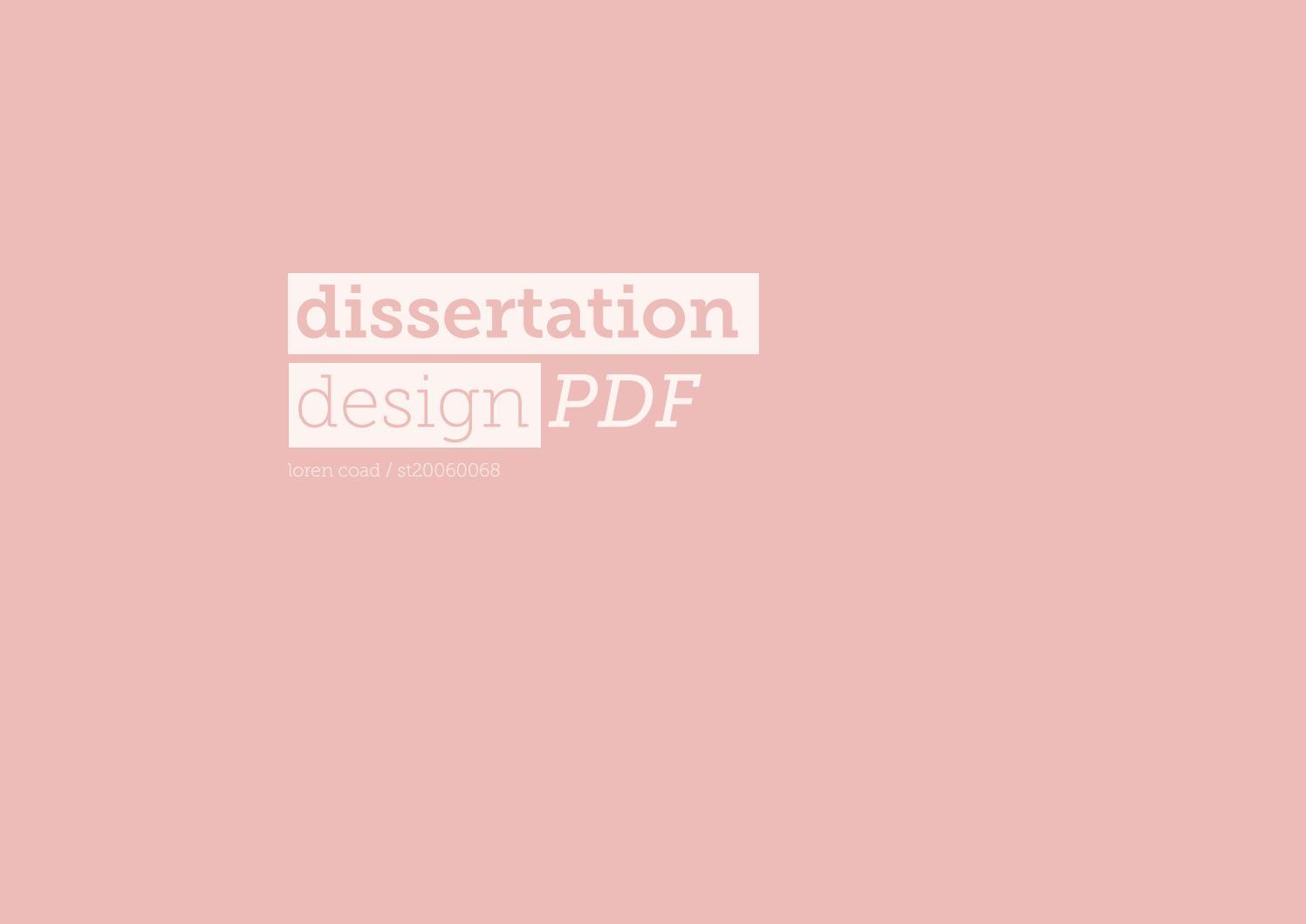 Dissertation proposal brand loyalty