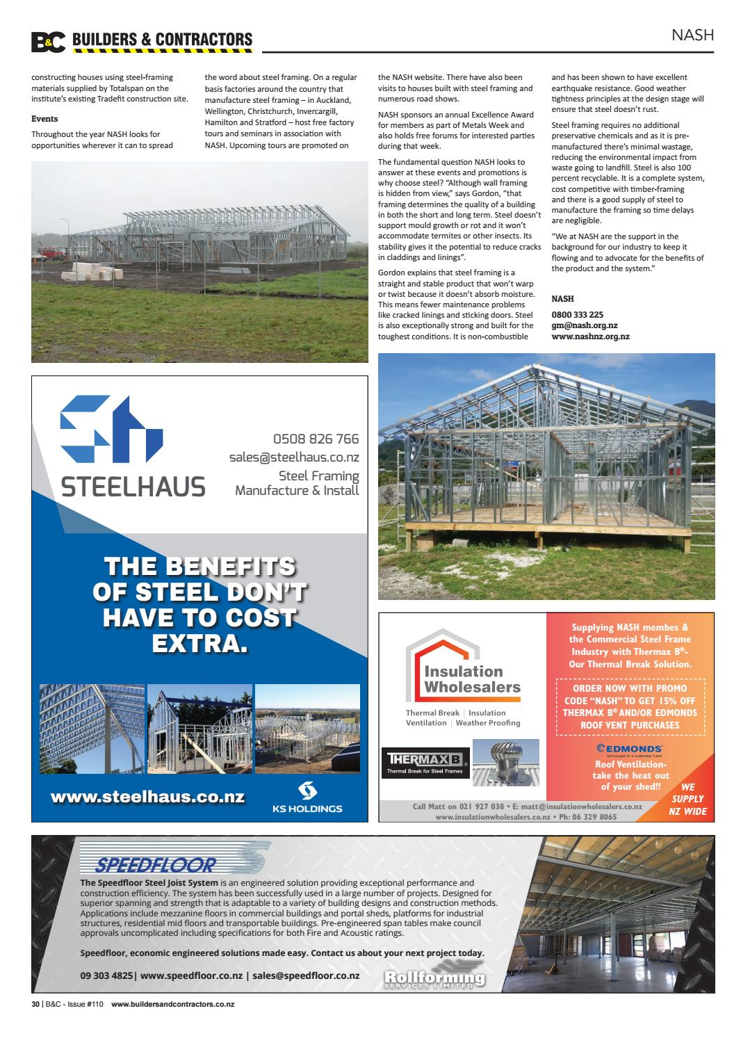 Builders & Contractors Magazine, Issue #110 by Markat - issuu