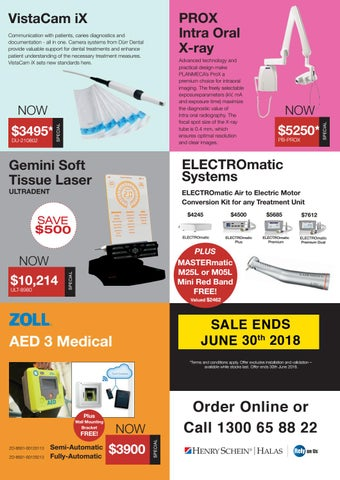 Page 10 of IntraOral Camewrs, X-ray, Lasers and AED