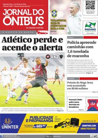 Jornal do Ônibus de Curitiba - 14 05 18 by Editora Correio ... 43f5a06b2ee54