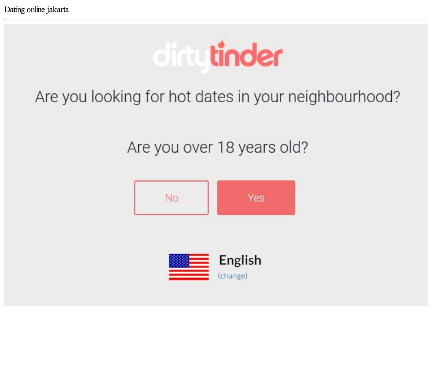 jakarta dating online