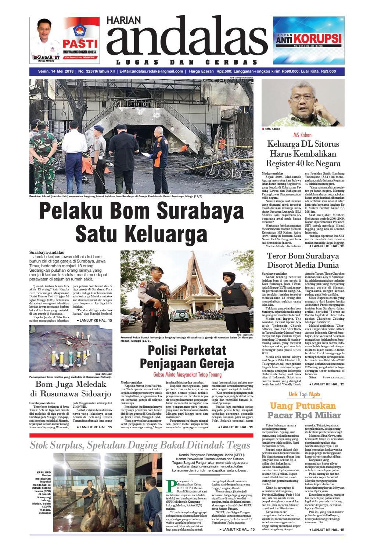 Epaper Andalas Edisi Senin 14 Mei 2018 By Media Andalas Issuu