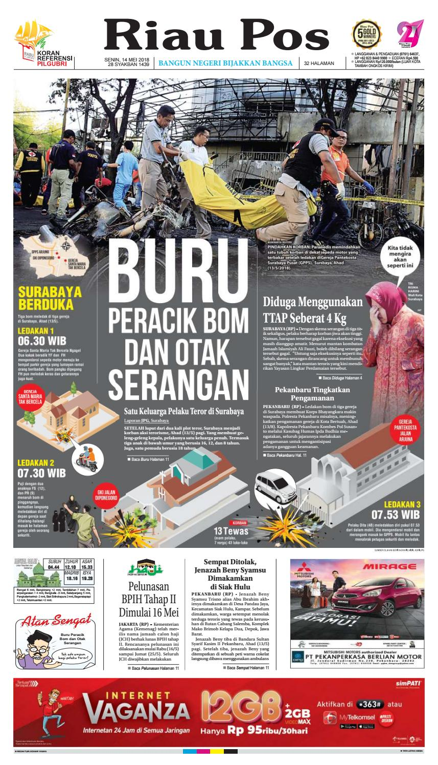 2018 05 14 By Riau Pos Issuu