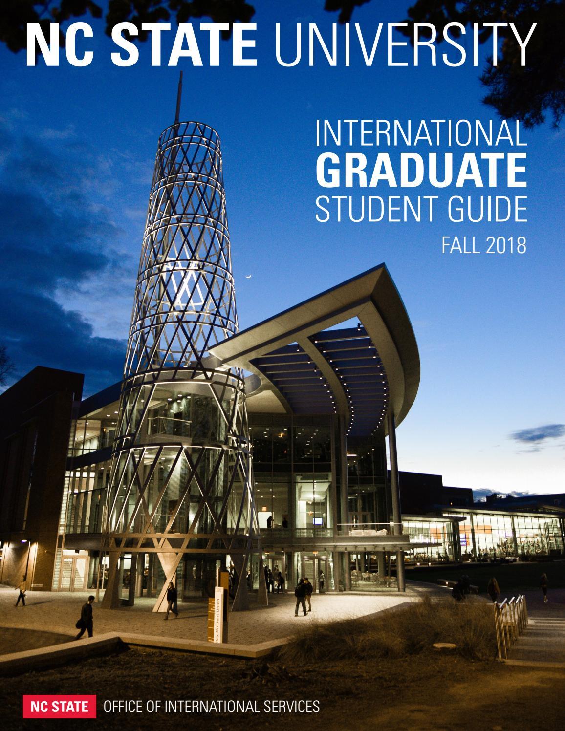 Ncsu Academic Calendar.Nc State Office Of International Services Fall 2018 International