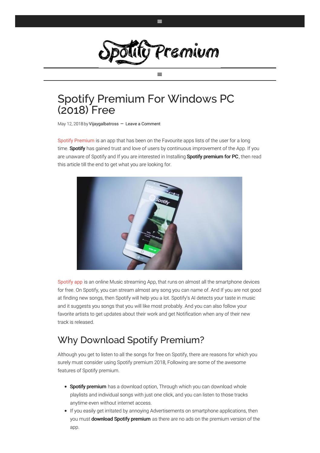 spotify no ads apk 2018